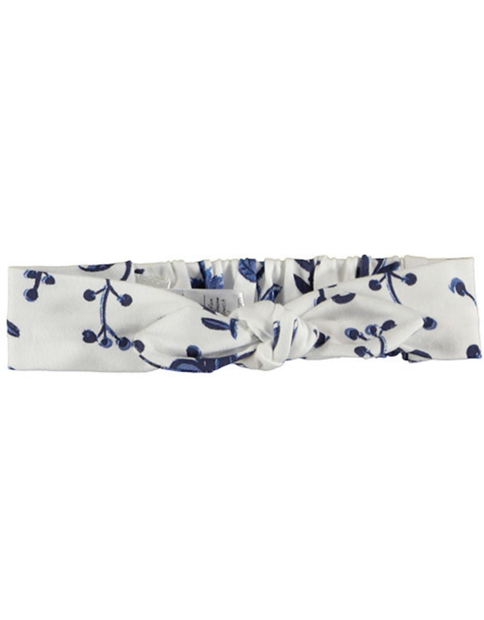 B.E.S.S haarband blauwe bloemen