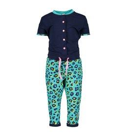B-Nosy jumpsuit met luipaard broek