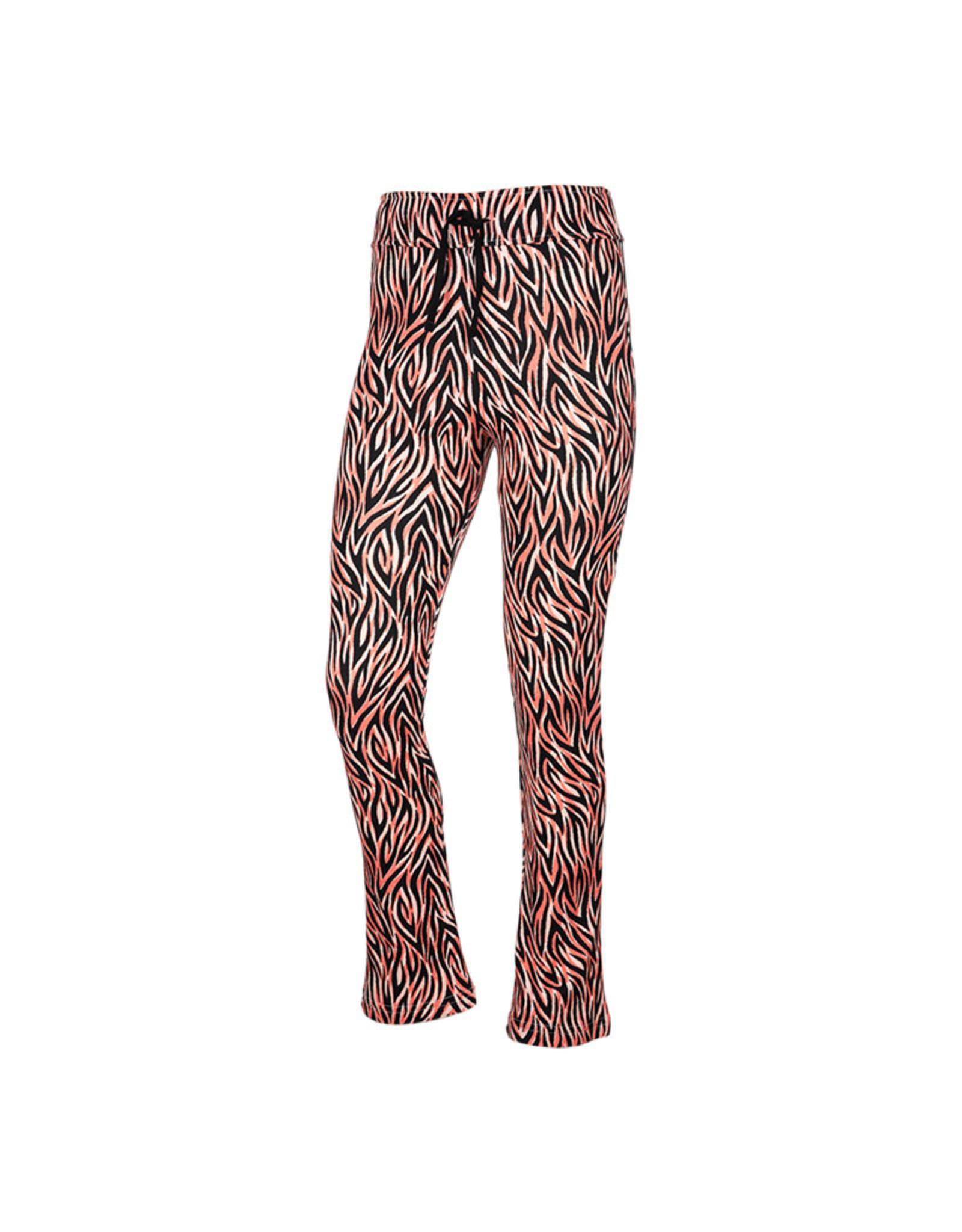 Kie-stone broek stretch tijger