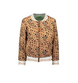 NONO reversibel jasje dieren/luipaard