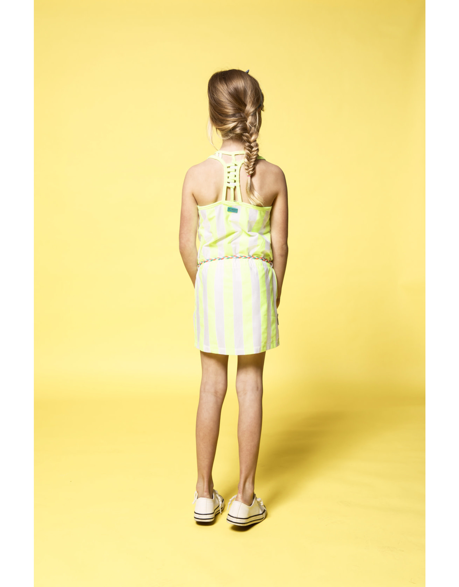 B-Nosy jurk met fancy achterkant
