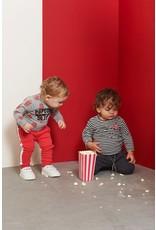 Feetje longsleeve streep popcorn party