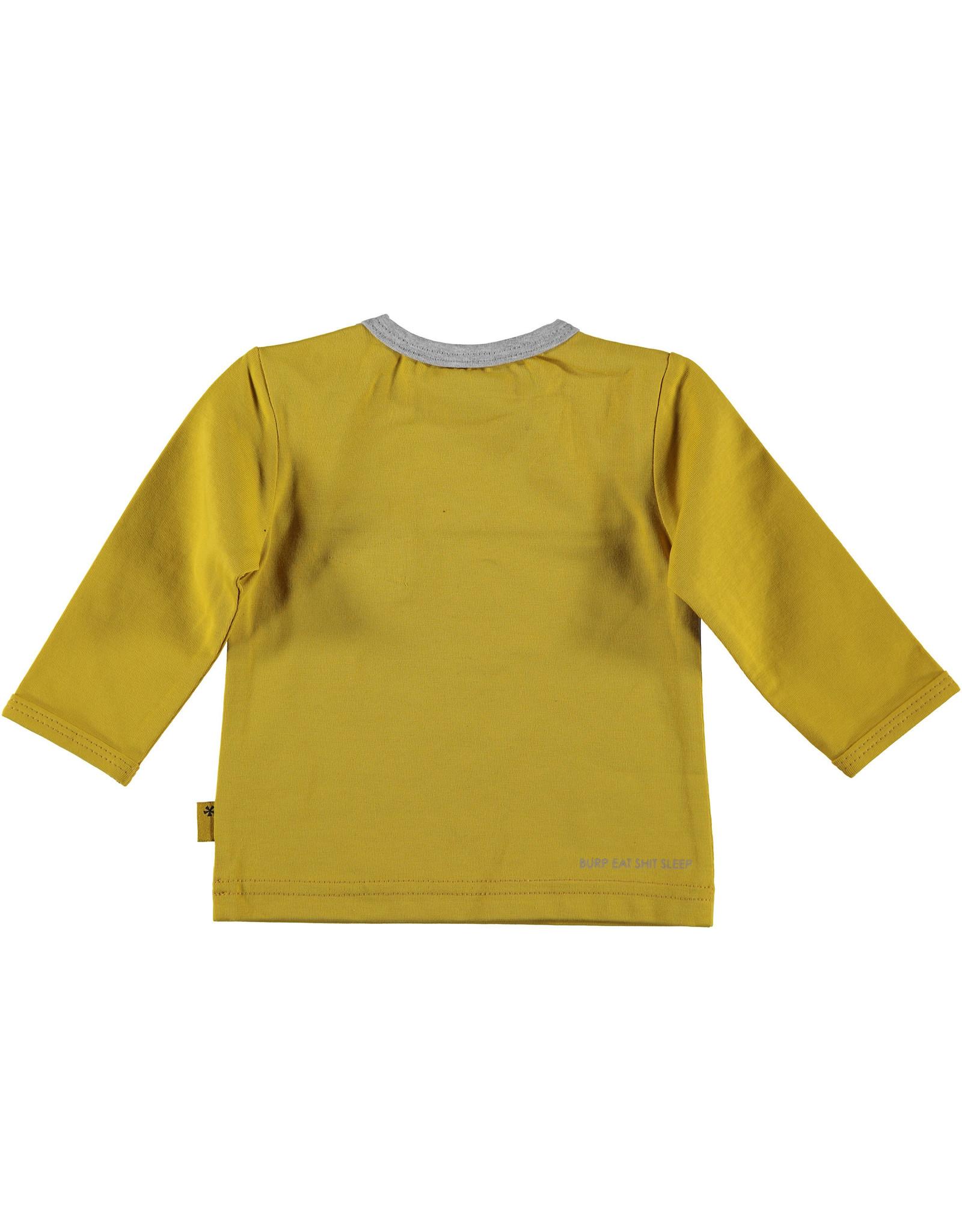 B.E.S.S shirt lange mouw zak