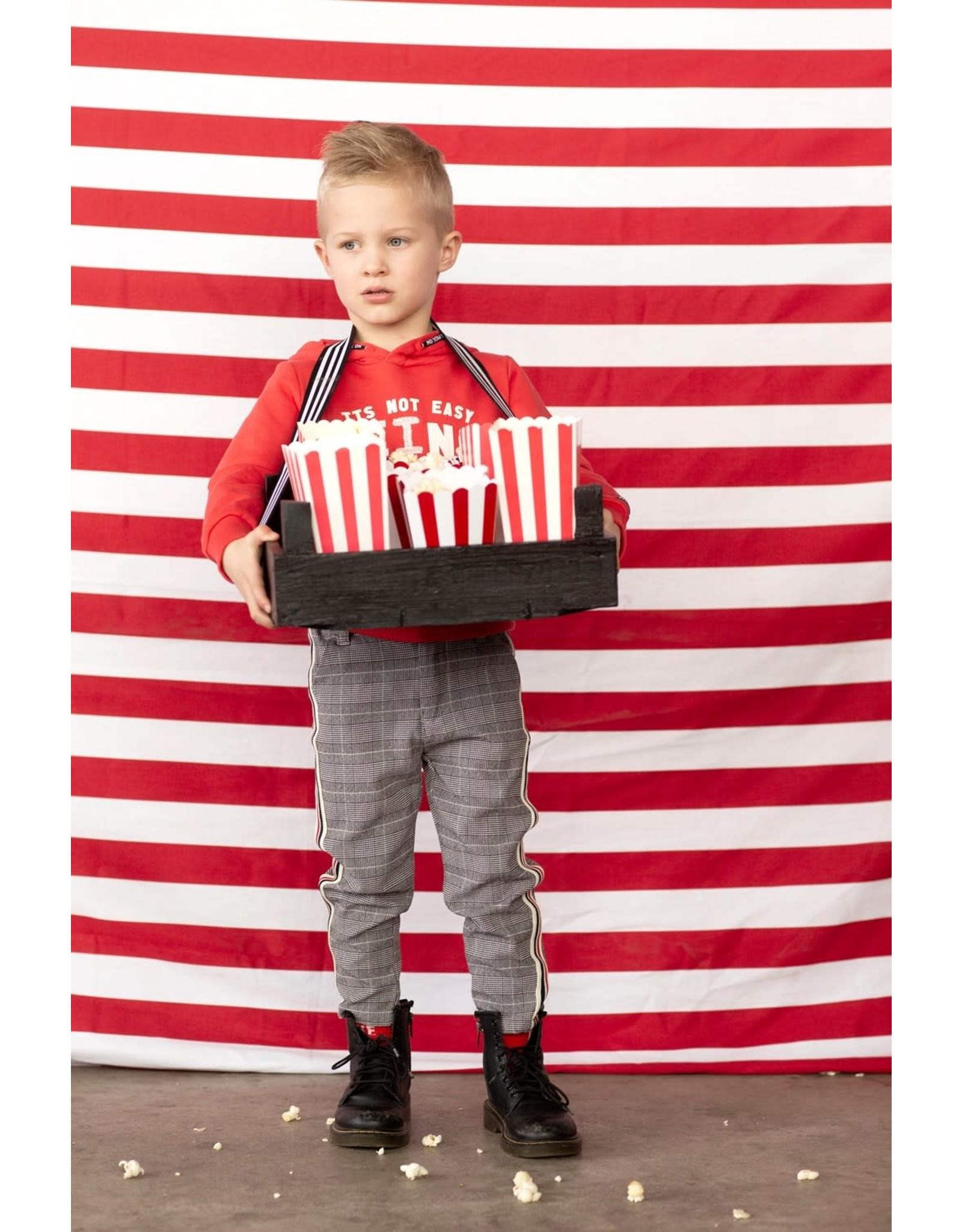 Sturdy broek geruit popcorn power
