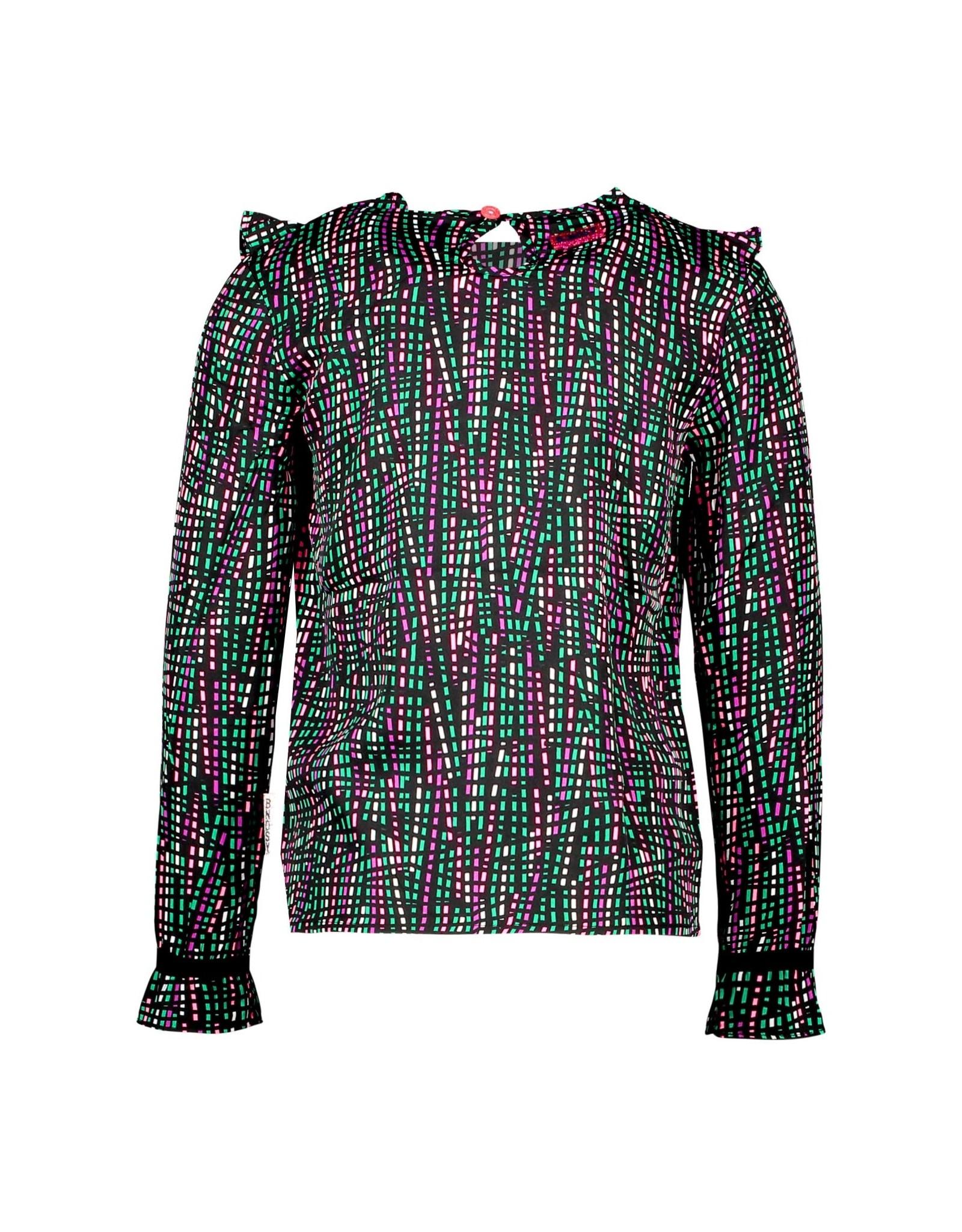 B-Nosy blouse met ruffles