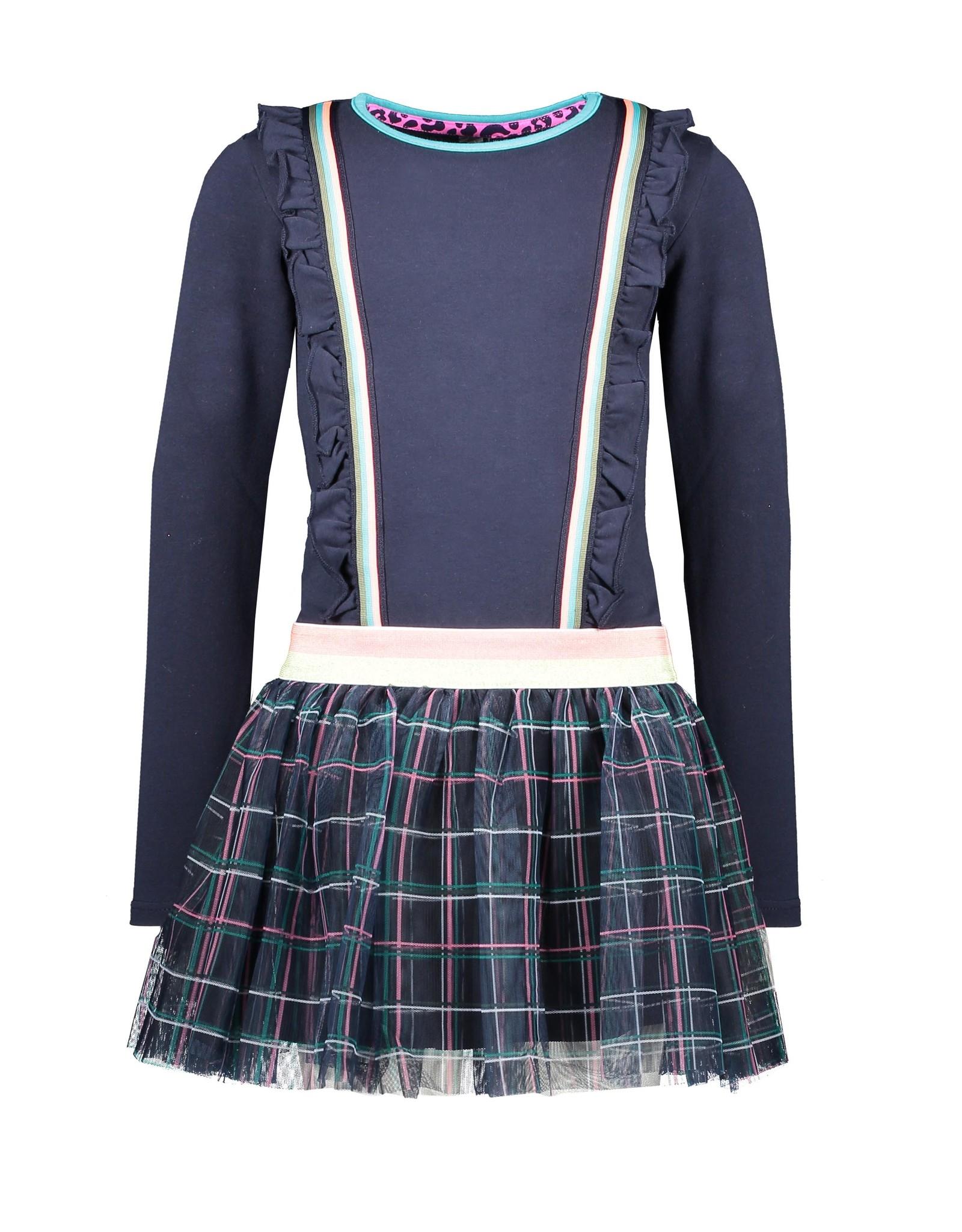 B-Nosy jurk met ruffles