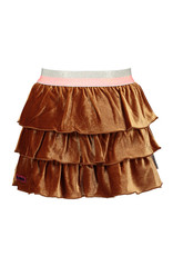 B-Nosy 3 laags velvet rok met glitter