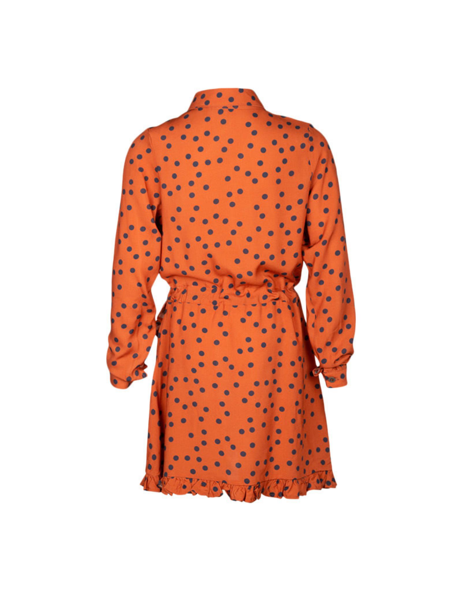 Kie-stone jurk dot