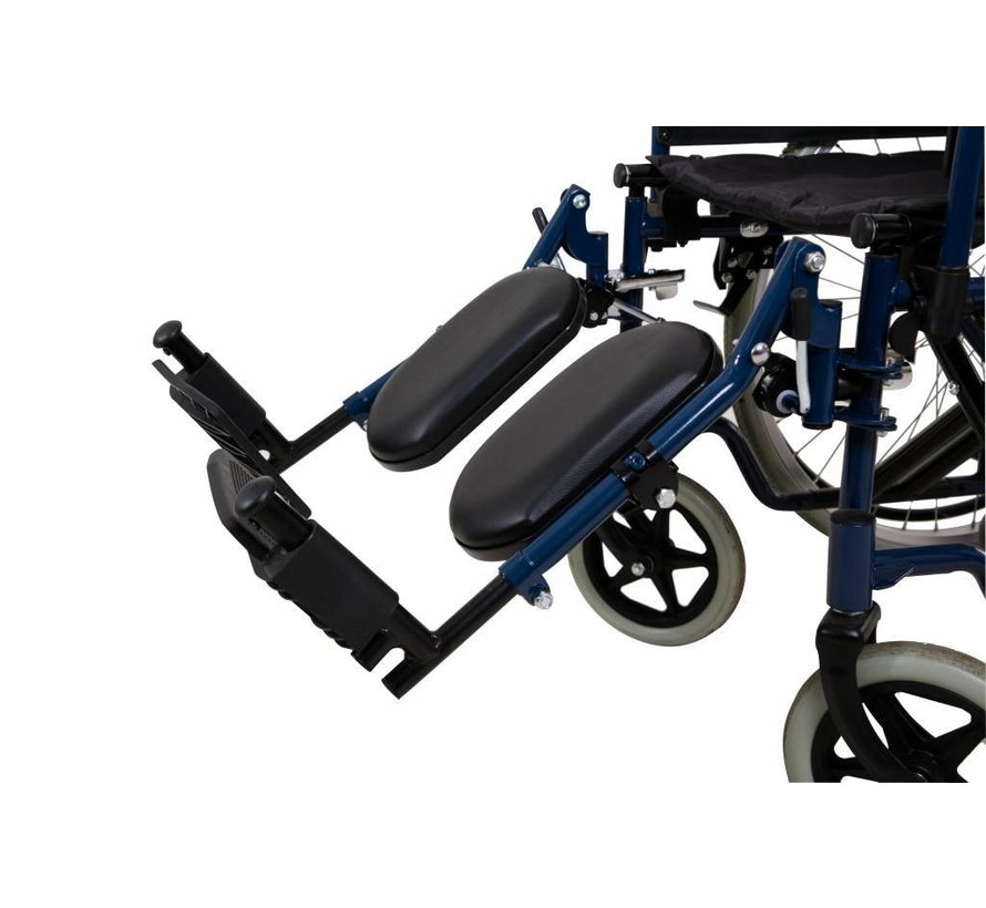 Beensteun voor rolstoel