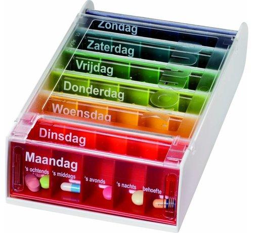 Anabox Medicijnenbox/pillendoos met 7 dagen voor elke dag per week