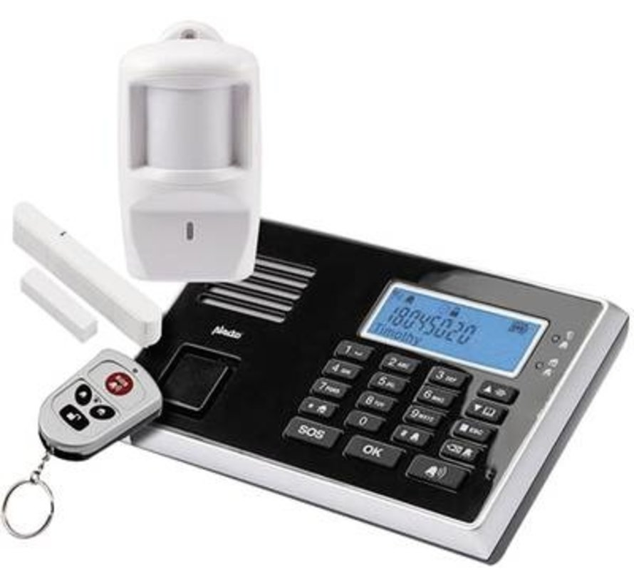 Dwaalalarm met GSM kiezer   Alecto DA-270