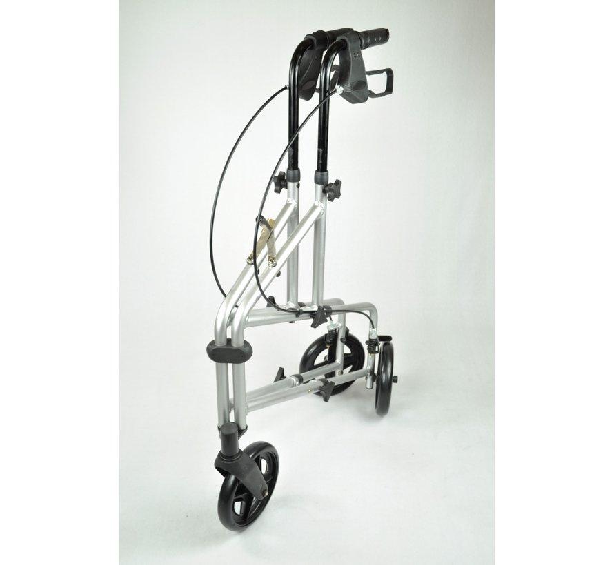 Aluminium 3-wiel rollator (2 opties)