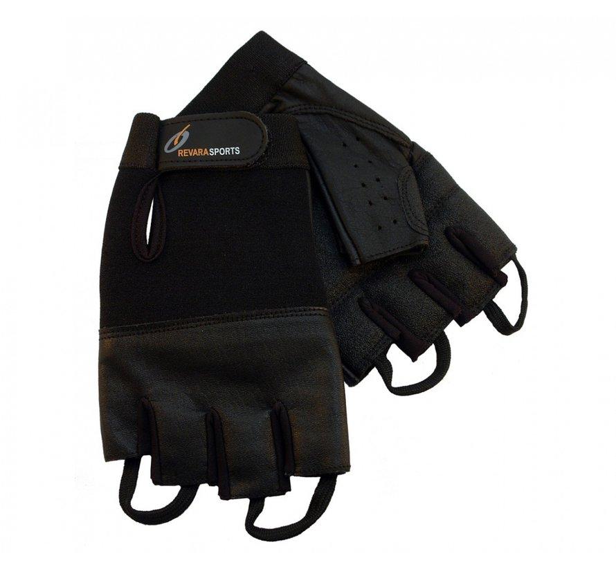 Lederen zomer handschoenen