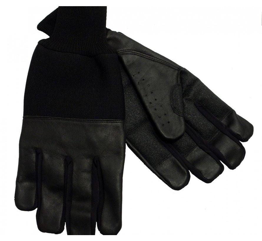 Lederen winter handschoenen