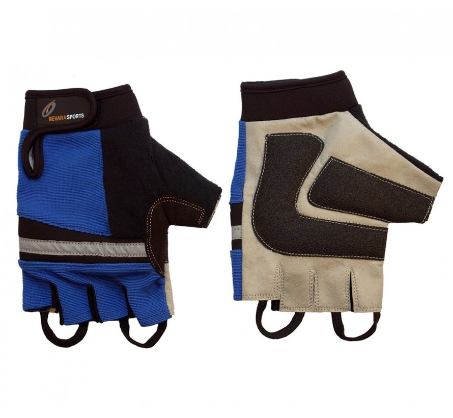 Rolstoel handschoenen, Blauw