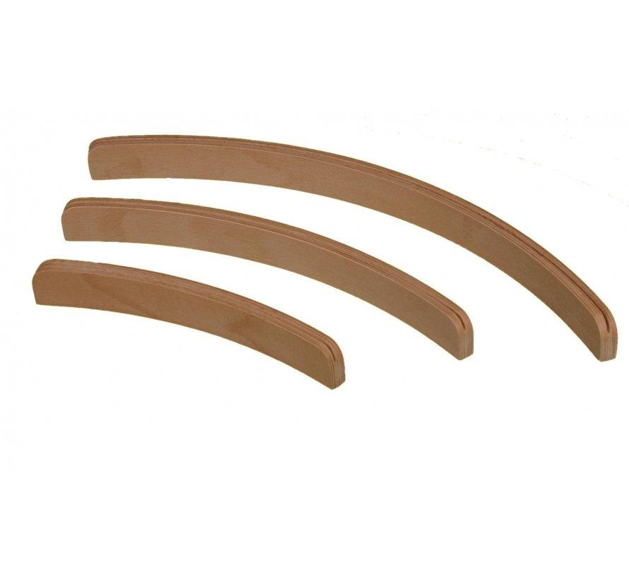 Kaartenstandaard hout (3 maten)