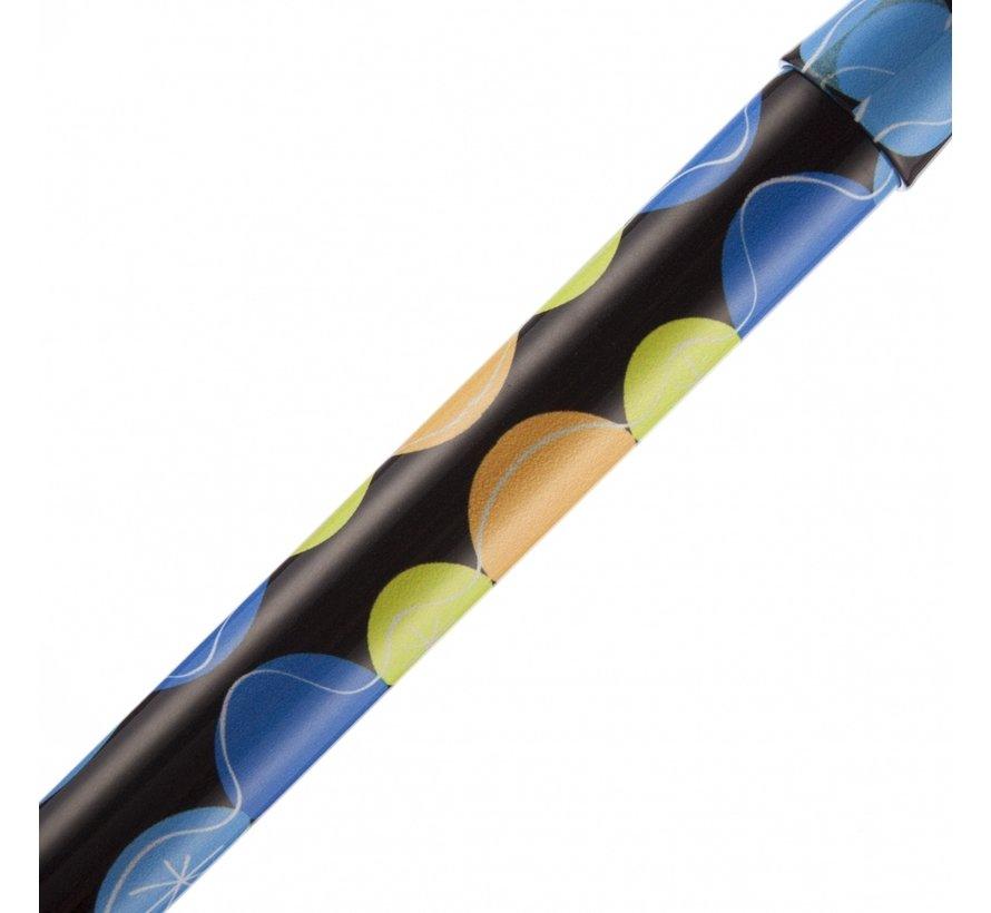 Wandelstok Opvouwbaar  76-89 cm | Dessin: Bubbles