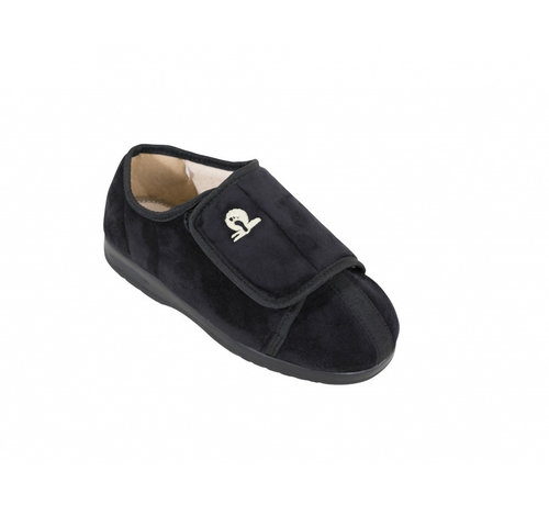 Pantoffels, Cameron  Zwart