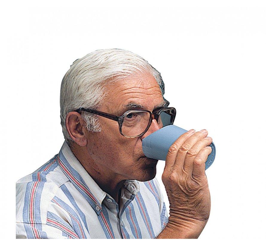 Drinkbeker met neus uitsparing