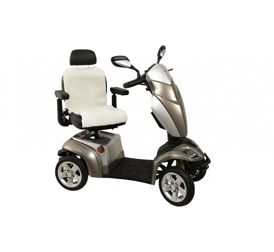 Schapenvacht Rug + zitting voor rolstoel