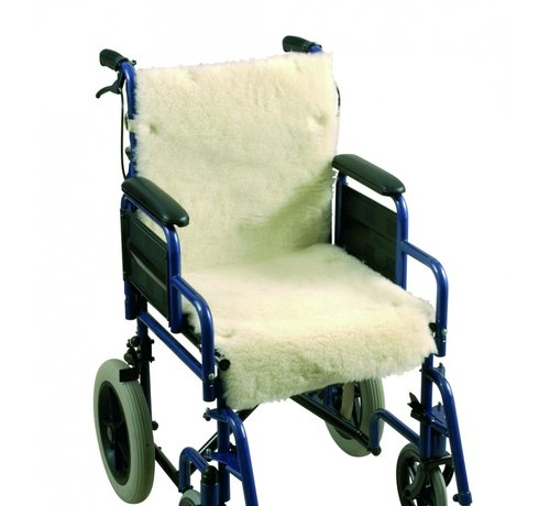 Revatel Schapenvacht Rug + zitting voor rolstoel
