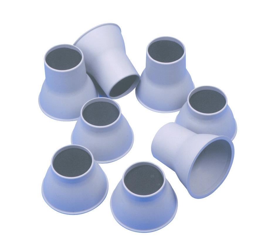 Olifant poten bed/stoel (4 stuks)
