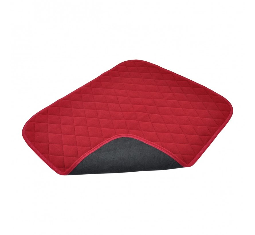 Vida stoelbeschermer rood