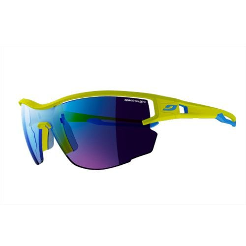 Julbo Aerolite / Light As Air Sunglasses Blue/Lime Green