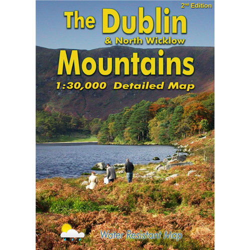 EastWest Mapping The Dublin & North Wicklow Mtns. 1:30000 adventure.ie