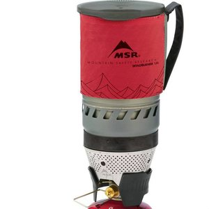 MSR WindBurner Stove 1.0L Red