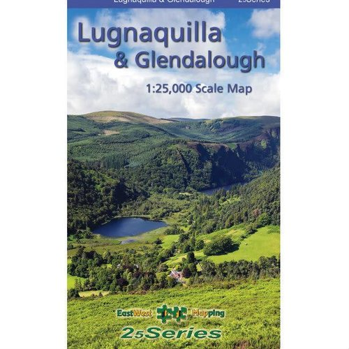 EastWest Mapping Lugnaquilla & Glendalough 1:25000 Paper Map