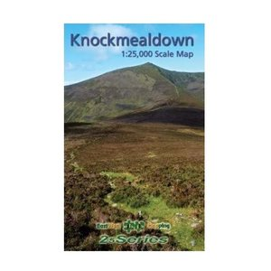 EastWest Mapping Knockmealdown 1:25000 Paper Map