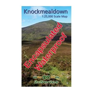 EastWest Mapping Knockmealdown 1:25000 Encapsulated Map