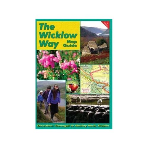 EastWest Mapping Wicklow Way Guidebook & Map S-N adventure.ie