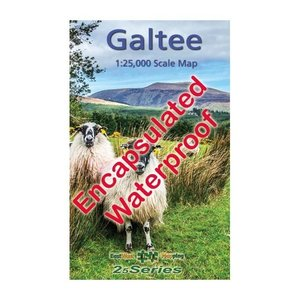 EastWest Mapping Galtee 1:25000 Encapsulated Map adventure.ie