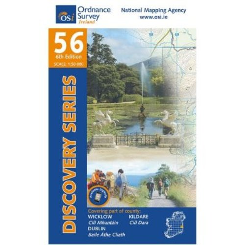 OSI Discovery Series Sheet 56 Lamfold Map