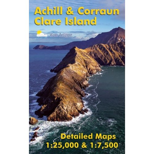 EastWest Mapping Achill & Corraun, Clare Island 1:25,000 adventure.ie