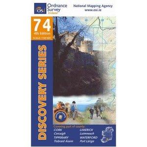 OSI Discovery Series Sheet 74 Lamfold Map