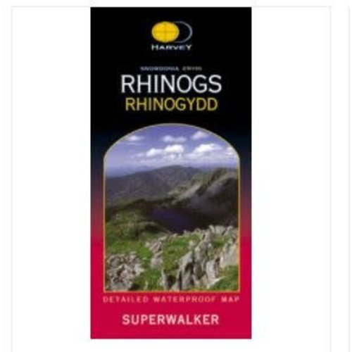 Harvey Snowden Rhinogs 1:25000