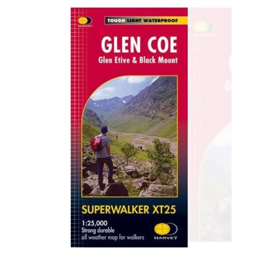 Harvey Glencoe Glen Coe 1:25000