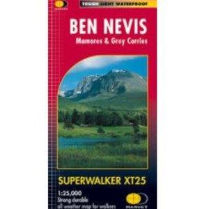 Harvey Ben Nevis 1:25000