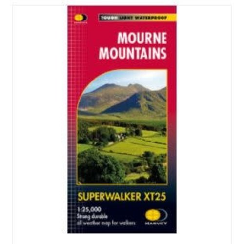 Harvey Mourne Mountains 1:25000