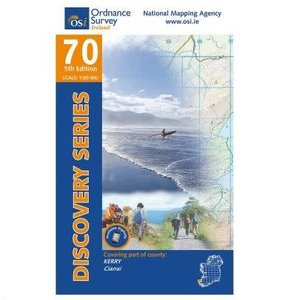 OSI Discovery Series Sheet 70 Lamfold Map