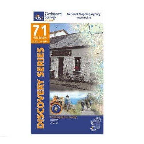 OSI Discovery Series Sheet 71 Lamfold Map