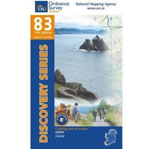 OSI Discovery Series Sheet 83 Lamfold Map