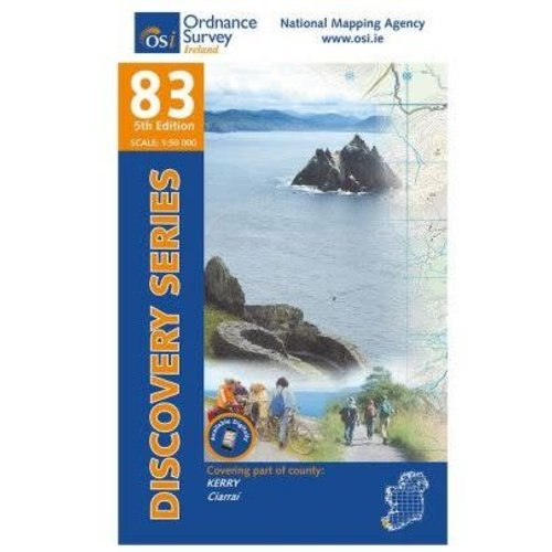 OSI Discovery Series Sheet 83 Weatherproof Map
