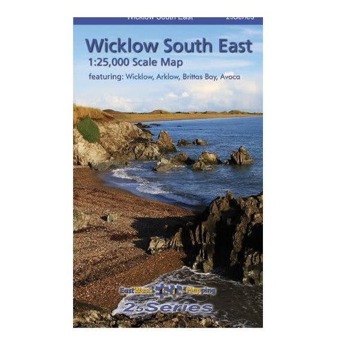 EastWest Mapping Wicklow South East 1:25000 Encapsulated Map