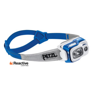 Petzl Climbing Gear Petzl Swift RL 900 Lumens Headtorch