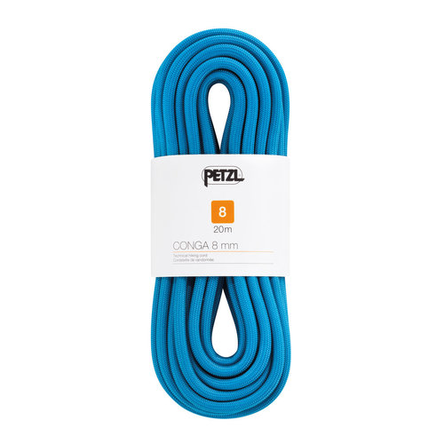 Petzl Climbing Gear Petzl Conga 8mm Walking Rope