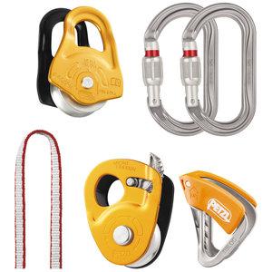 Petzl Climbing Gear Petzl Crevasse Rescue Kit